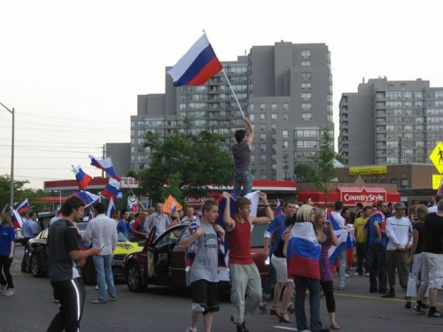 Русские в Канаде