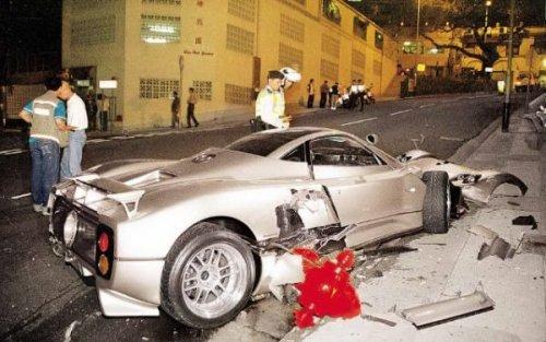 Самые дорогие аварии в мире