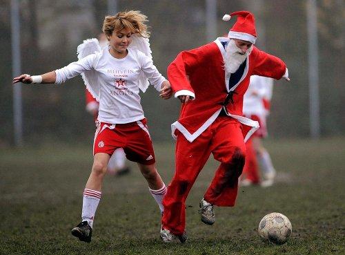 Рождественский футбол