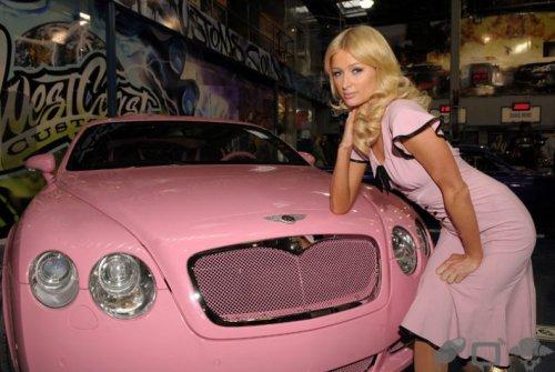 Bentley Пэрис Хилтон