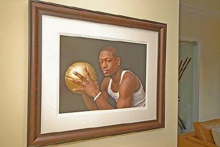 Дом звезды баскетбола