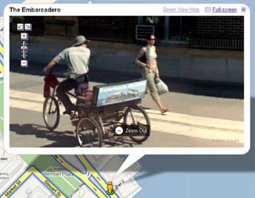 Необычные кадры от Google