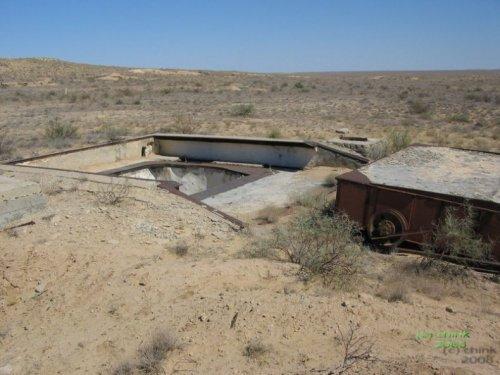 Заброшенные пусковые шахты