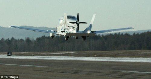 Первый полет летающей машины