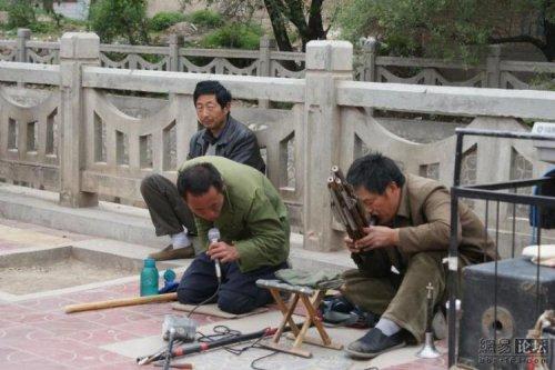 Китайский уличный оркестр