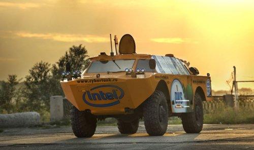 Intel на танке