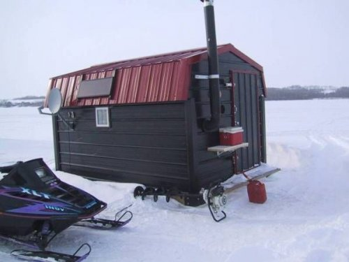 Домик для рыбалки