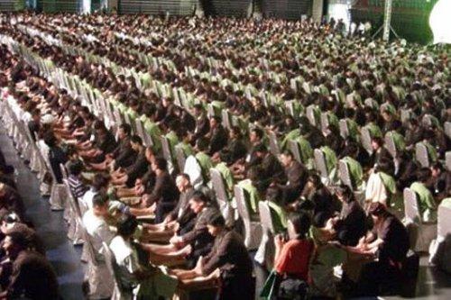 Тысяча восемь массажистов