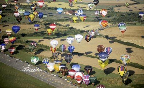 Мировой рекорд воздухоплавания