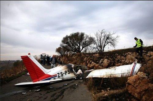 Самолет против машины