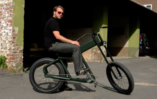 Необычный велосипед