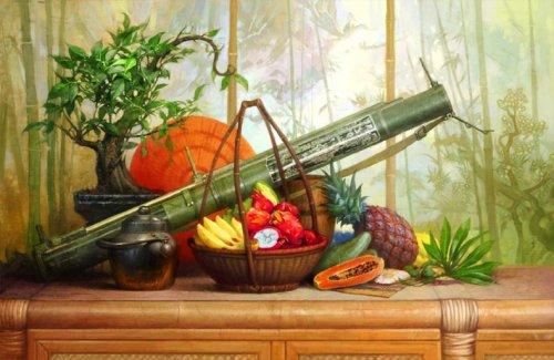 Оружие на рисунках