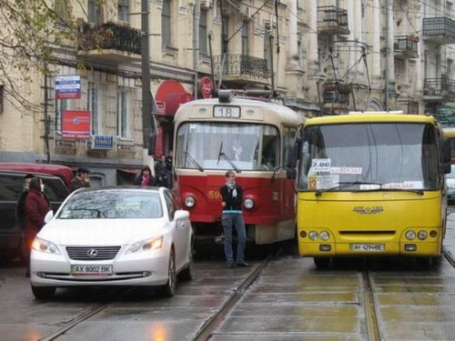 Блондинка и трамвай