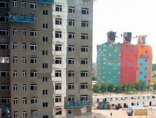 Необычный отель в Китае