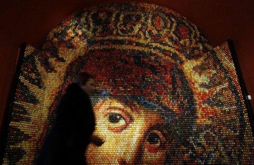 Яичная мозаика