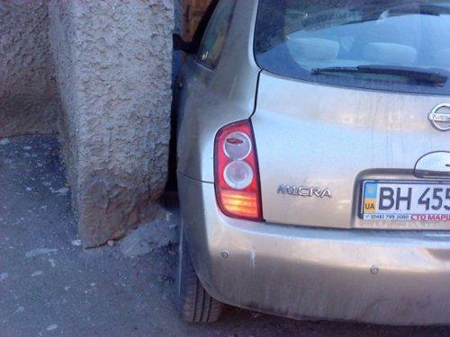 Неудачная парковка
