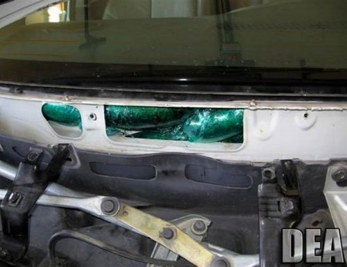 Наркотики в машине