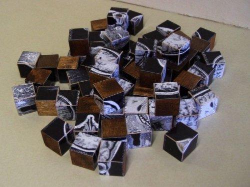 Мозг из кубиков
