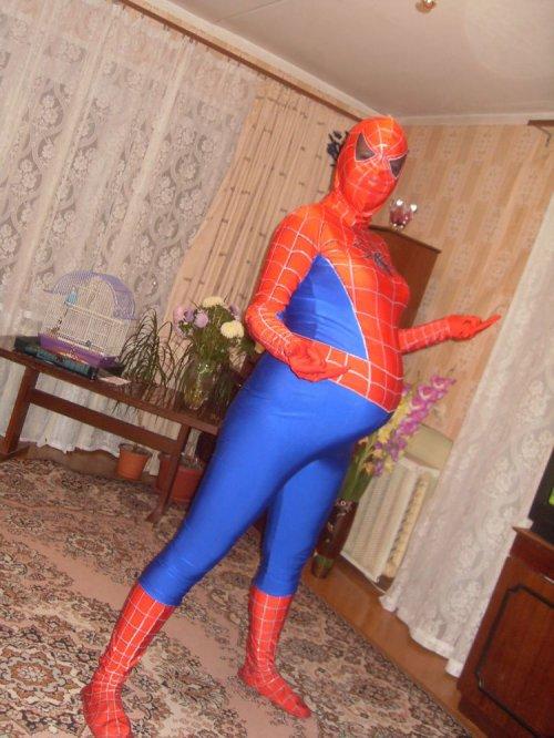 Беременный человек-паук