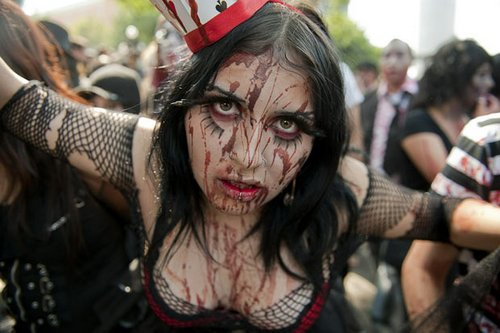 Зомби в Мехико