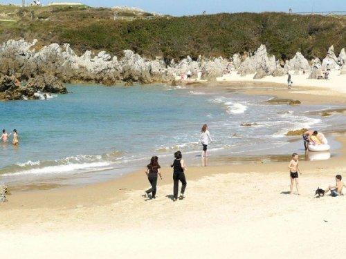Морской пляж есть, моря нет